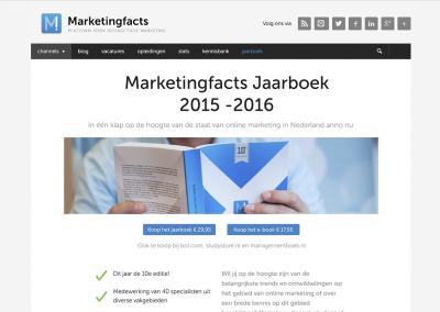 Marketingfacts Jaarboek in higher education