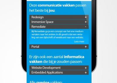 Uitslagpagina Mobile